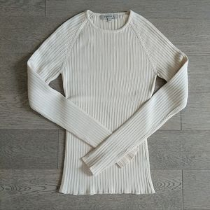 2/$30 RW&CO. Beige Knit Crew Neck Sweater